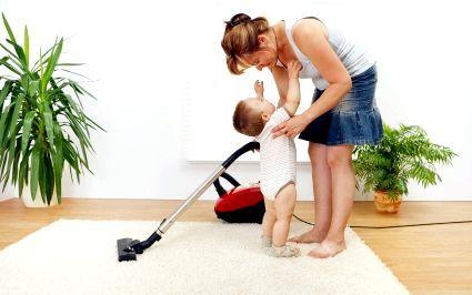 Чистимо килим разом