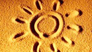 Сонце на піску