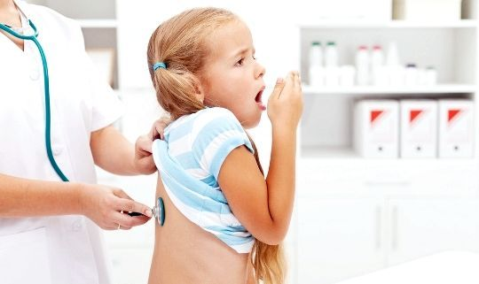 Кашель у дитини на прийомі у лікаря