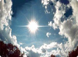 Сонце в небі